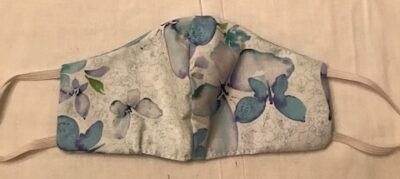 Fabric Mask made with cotton - butterfly or pick your fabric